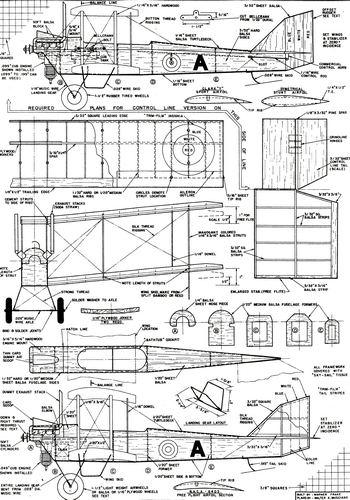 Plan Maquette Avion Bois Gratuit ~ Plan Maquette Avion Bois Gratuit