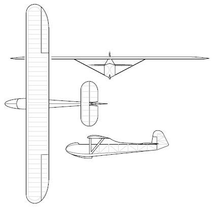 glider blueprints